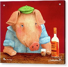 Ham On Rye... Acrylic Print