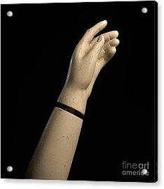 Hand Of Dummy Acrylic Print by Bernard Jaubert