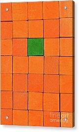 Handicraft Cubes Acrylic Print by George Atsametakis