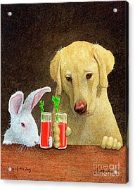 Hare Of The Dog... Acrylic Print