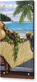 Hawaiian Still Life Panel Acrylic Print