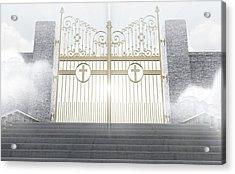 Heavens Gates Acrylic Print