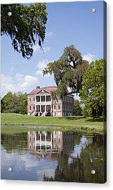 Historic Drayton Hall In Charleston South Carolina Acrylic Print by Dustin K Ryan