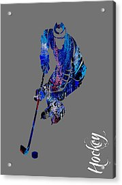 Hockey Collection Acrylic Print by Marvin Blaine