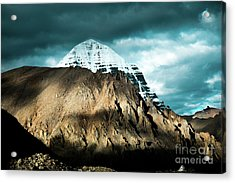 Holy Kailas East Slop Himalayas Tibet Yantra.lv Acrylic Print
