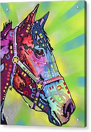 Horse Acrylic Print by Dean Russo