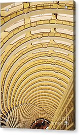 Hotel Atrium In The Jin Mao Tower Acrylic Print by Jeremy Woodhouse