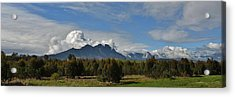 Hottentots Holland Mountains Acrylic Print by Werner Lehmann