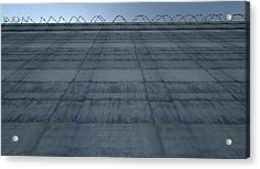 Huge High Security Wall Acrylic Print by Allan Swart