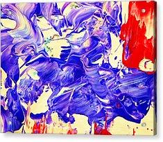 Il Diavolo Acrylic Print by Adolfo hector Penas alvarado