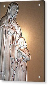 Immanuel Acrylic Print by Terence McSorley