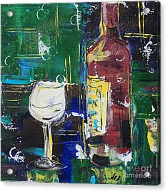 In Vino Veritas. Wine Collection 12 Acrylic Print