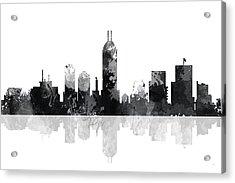 Indiana Indianapolis Skyline Acrylic Print