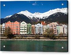 Innsbruck Acrylic Print by Andre Goncalves