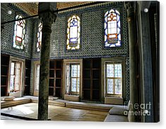 Acrylic Print featuring the photograph Inside The Harem Of The Topkapi Palace by Patricia Hofmeester