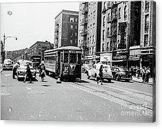 Acrylic Print featuring the photograph Inwood Trolley  by Cole Thompson