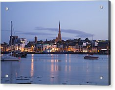 Acrylic Print featuring the photograph Irish Dusk by Ian Middleton