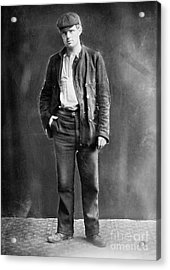 Jack London (1876-1916) Acrylic Print by Granger