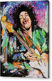 Jimi Hendrix Acrylic Print by Richard Day