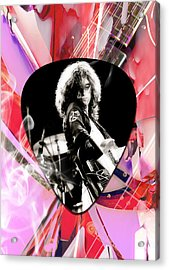 Jimmy Page Led Zeppelin Art Acrylic Print