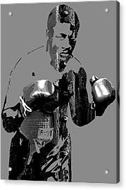 Joe Frazier Collection Acrylic Print by Marvin Blaine