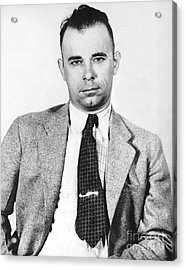 John Dillinger 1903-1934 Acrylic Print by Granger