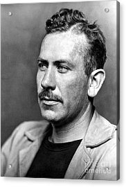 John Steinbeck (1902-1968) Acrylic Print by Granger