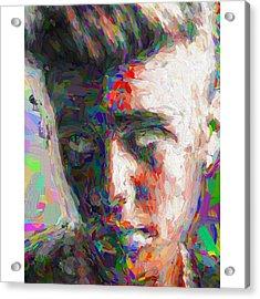 #justinbieber @justinbieber Acrylic Print