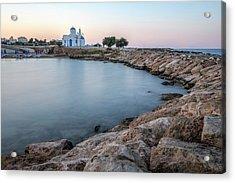 Kalamies Beach - Cyprus Acrylic Print