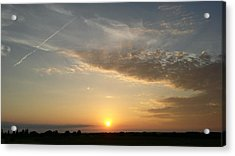 Kansas Sunset Acrylic Print by Dustin Soph