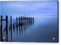 Colorful Overcast At Twilight Acrylic Print