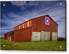 Kentucky Quilt Barn Acrylic Print