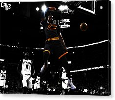 King James Acrylic Print by Brian Reaves