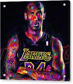 Kobe The Golden Child Bryant Is Acrylic Print