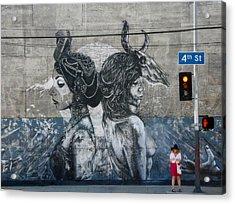 La Street Art Acrylic Print