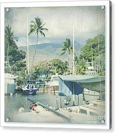 Lahaina Acrylic Print by Sharon Mau