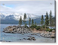 Lake Tahoe Acrylic Print by Linda Sramek