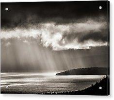 Lake Tahoe Storm Acrylic Print