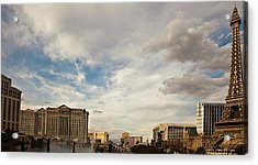 Las Vegas Acrylic Print by Patrick  Flynn