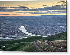 Lc Valley Acrylic Print