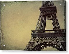 Le Jules Vernes Grunge Acrylic Print by JAMART Photography