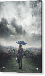 Leaving Acrylic Print by Joana Kruse