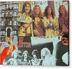 Led Zeppelin Art Acrylic Print