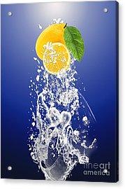 Lemon Splast Acrylic Print