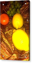 2 Lemons Acrylic Print