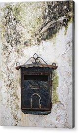 Letter Box Acrylic Print by Joana Kruse
