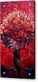 Lollipop Tree Red Acrylic Print