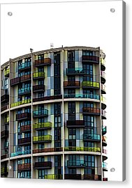 London Architecture Acrylic Print by Martin Newman
