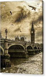 Acrylic Print featuring the photograph London by Jaroslaw Grudzinski