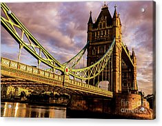 London Tower Bridge. Acrylic Print
